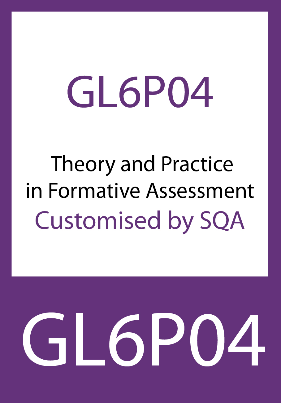 Certificate in Theory and Practice in Formative Assessment (GL6P04)